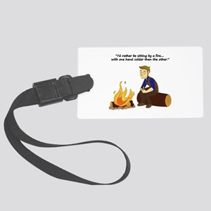 One Hand Colder Large Luggage Tag