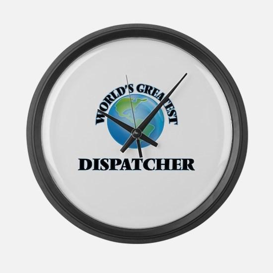 Unique Emergency dispatcher Large Wall Clock