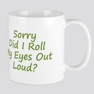 Roll My Eyes Mugs