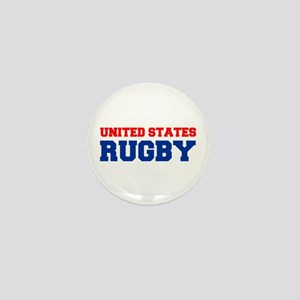 united states us rugby Mini Button