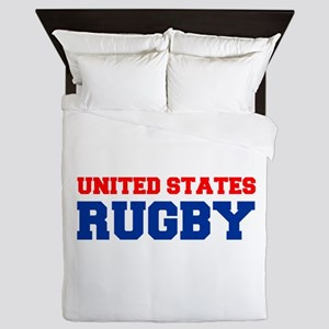 united states us rugby Queen Duvet