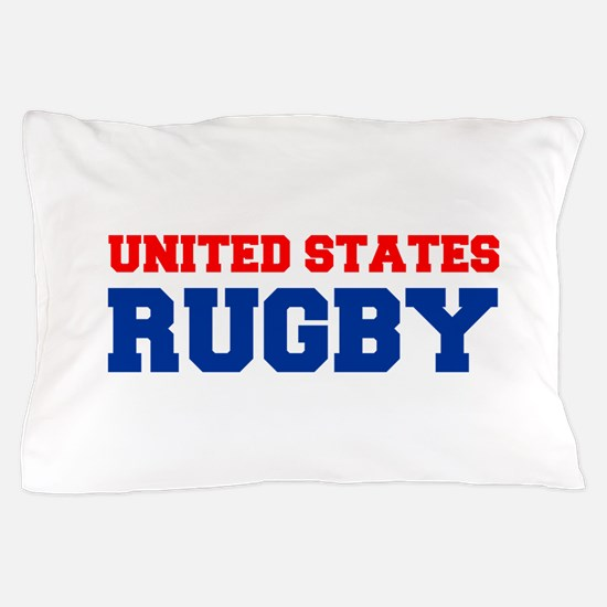 united states us rugby Pillow Case