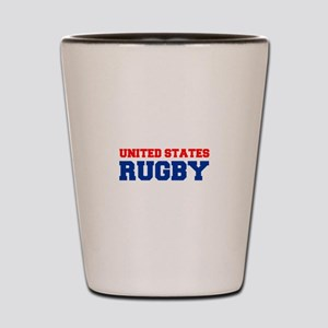 united states us rugby Shot Glass