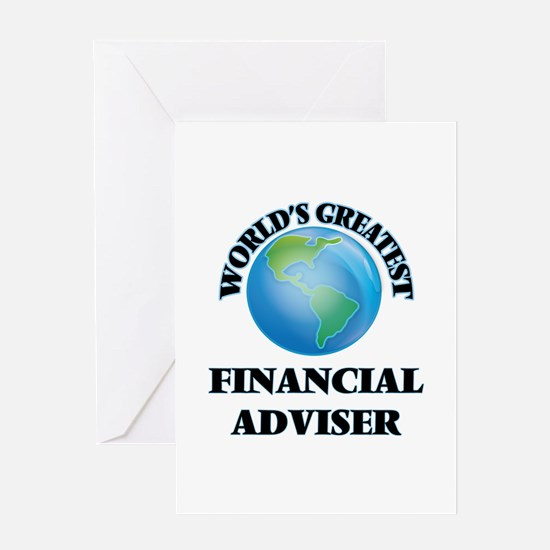 World's Greatest Financial Adviser Greeting Cards