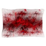 Red Turmoil Pillow Case