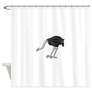 Ostrich Shower Curtains