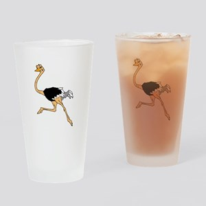 ostrich Drinking Glass