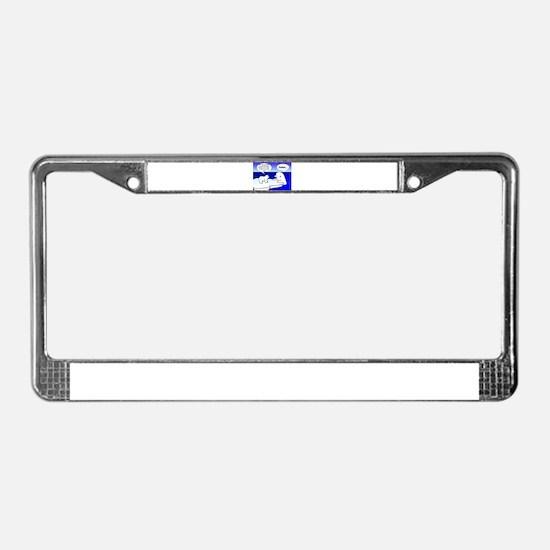 BELUGA GRAD License Plate Frame