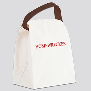 homewrecker Canvas Lunch Bag