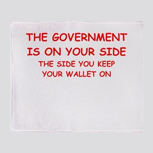 taxes Throw Blanket