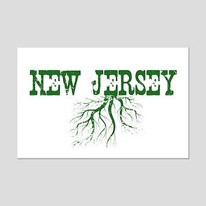 New Jersey Roots Mini Poster Print