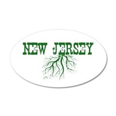 New Jersey Roots Wall Decal