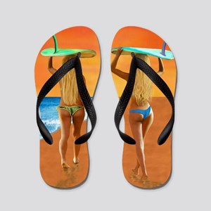SURFER GIRLS Flip Flops