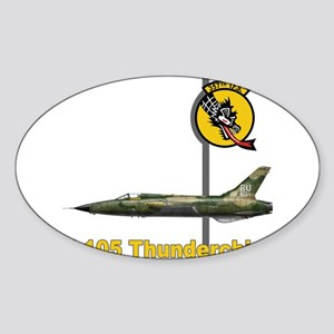 F-105 Thunderchief Rectangle Sticker