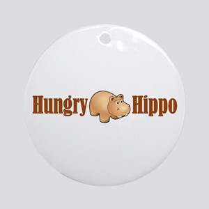 Hungry Hippo Ornament (Round)