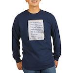 Toy Company Long Sleeve Dark T-Shirt
