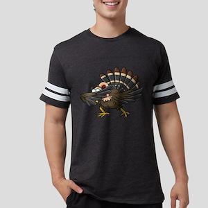 Thanksgiving Dabbing Turkey Dab T-Shirt