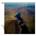 Aerial View Shower Curtain