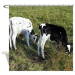 Baby Cows Shower Curtain