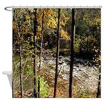 Summer Stream Shower Curtain