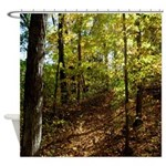 Spring In The Woods Shower Curtain