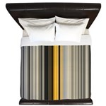 Fresh Clay Stripes King Duvet