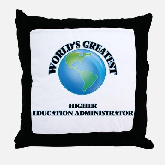 Cute Future higher education administrator Throw Pillow