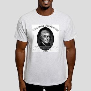 Thomas Jefferson 12 Light T-Shirt