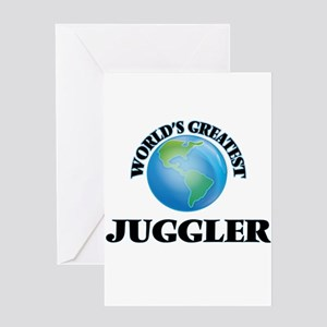 World's Greatest Juggler Greeting Cards