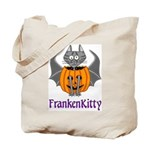FrankenKitty Trick or Treat Tote Bag