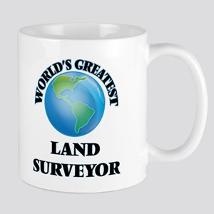 World's Greatest Land Surveyor Mugs