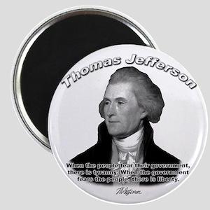 Thomas Jefferson 13 Magnet