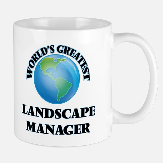 World's Greatest Landscape Manager Mugs