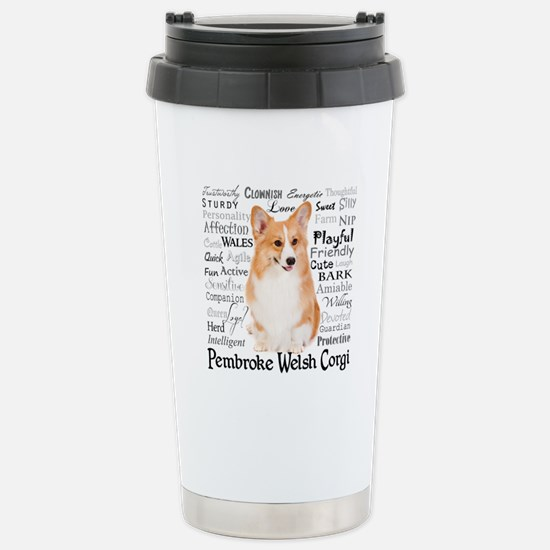 Corgi Traits Travel Mug