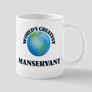 World's Greatest Manservant Mugs