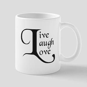 Live, Laugh, Love Mugs