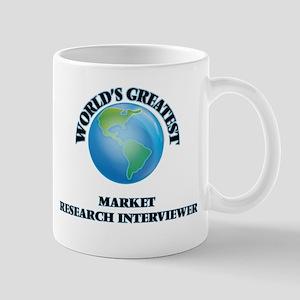 World's Greatest Market Research Interviewer Mugs