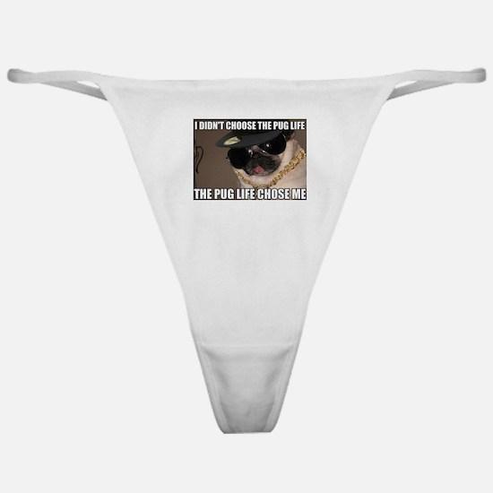 Funny Pug Classic Thong