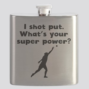 I Shot Put Super Power Flask