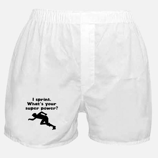 I Sprint Super Power Boxer Shorts