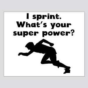 I Sprint Super Power Posters