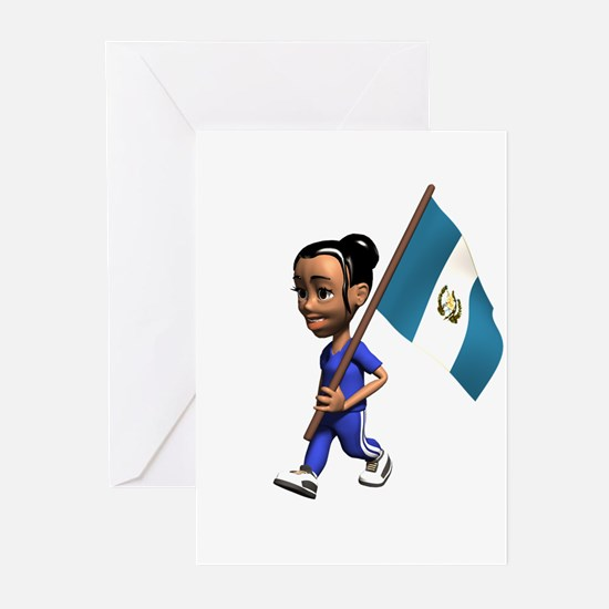 Guatemala Girl Greeting Cards (Pk of 10)