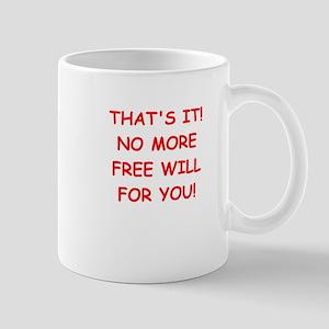 free will Mugs