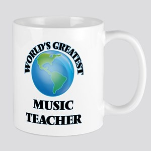 World's Greatest Music Teacher Mugs
