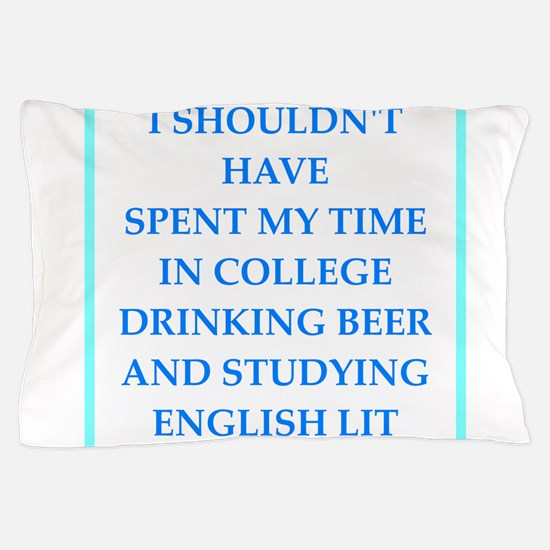 liberal arts major Pillow Case