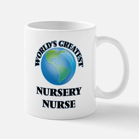 World's Greatest Nursery Nurse Mugs