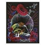 Alone - Sickle Cell Art Small Poster