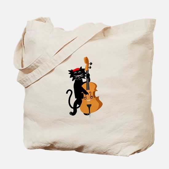 The Cat and the Fiddle Tote Bag