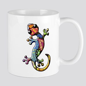 Calico Paisley Lizards Mug
