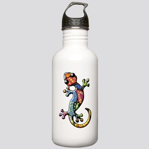 Calico Paisley Lizards Stainless Water Bottle 1.0L